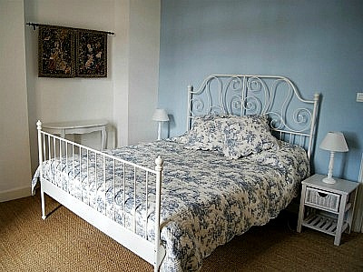 Bedroom 1 - the Blue Room