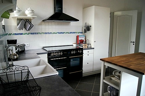 A well-equipped kitchen