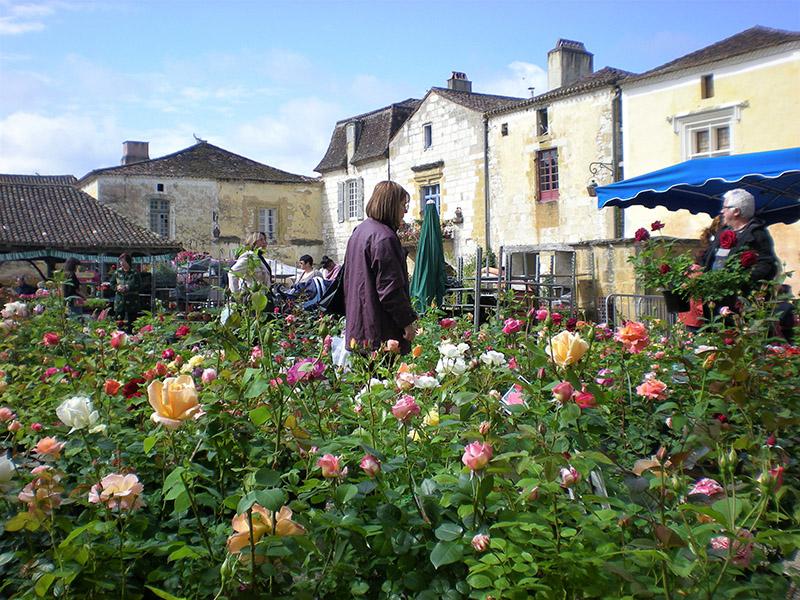 Wspring garden fete in village_w