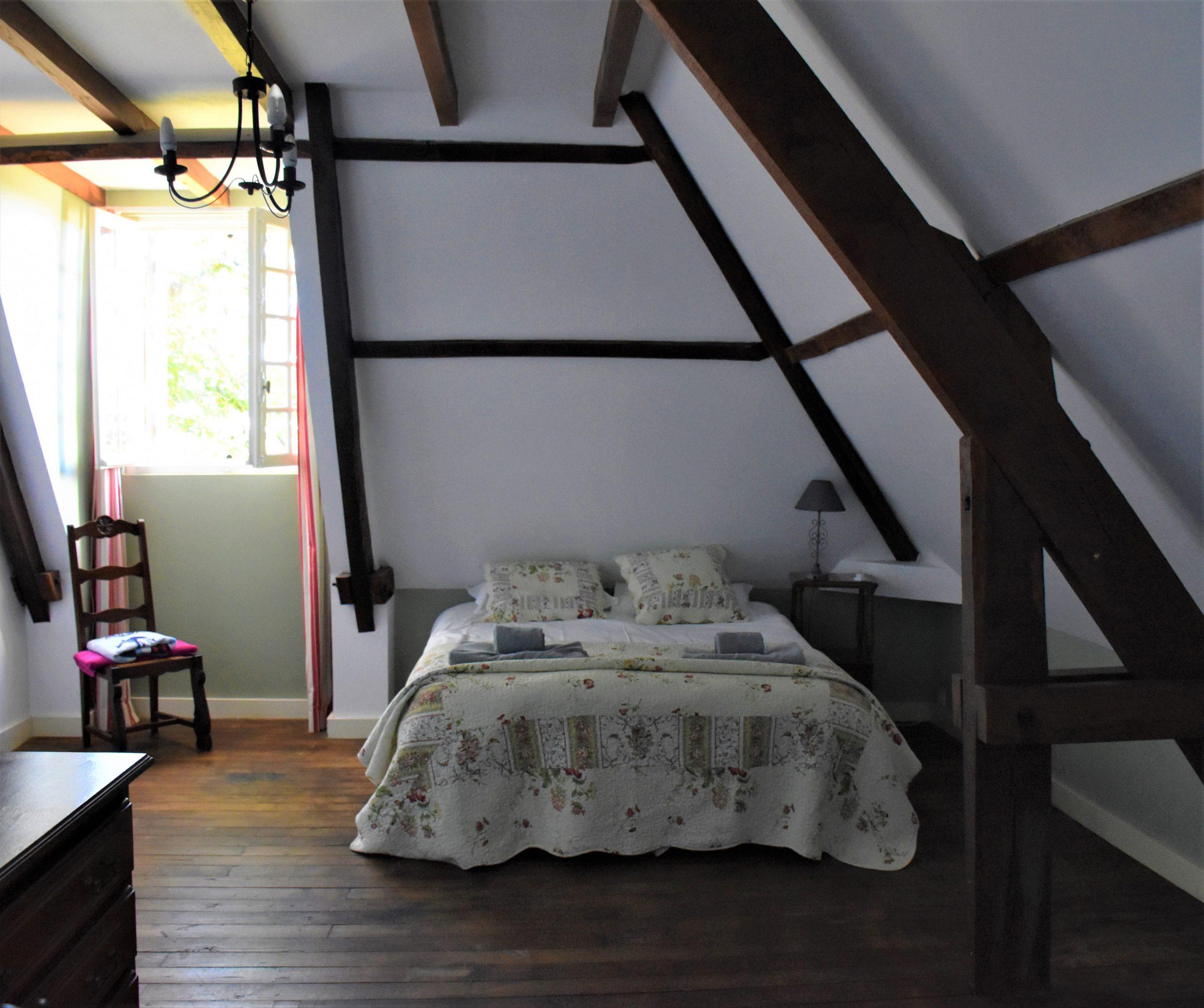 Spacious upstairs bedroom